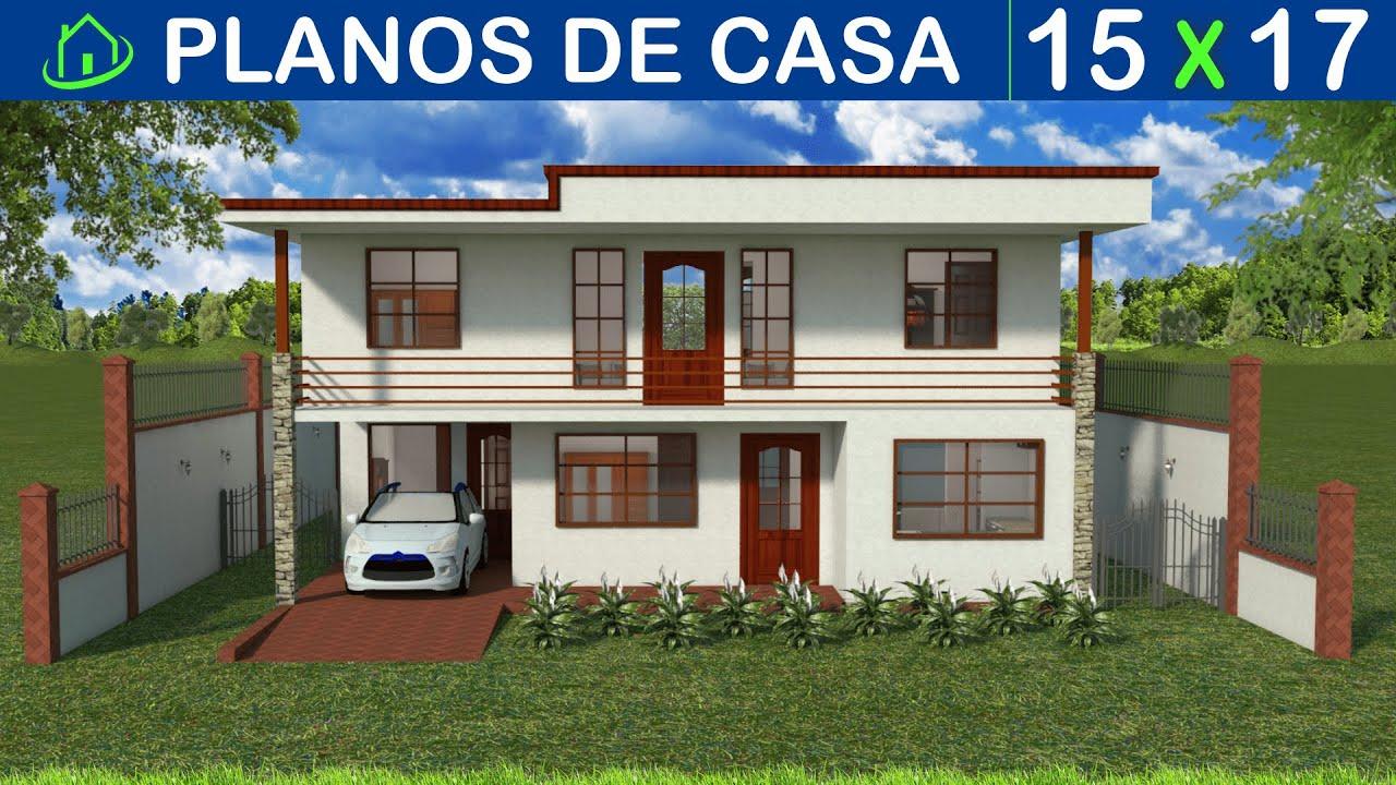 Diseños Planos 3D Casa Sencilla 2 pisos: Proyecto CDP K1 Recursos de ...