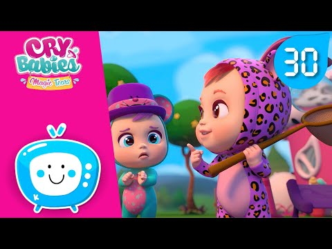 💕COLLECTION #4 💧CRY BABIES MAGIC TEARS 🌈 30 MINUTES! 😊CARTOONS for kids