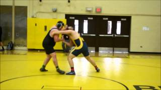 Andrew Osbron Henry Ford College round 1 match