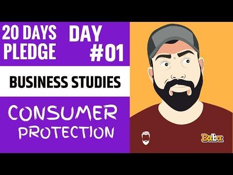 DAY 01 I Business Studies I Consumer Protection I Chapter-12 I 20 Dayspledge