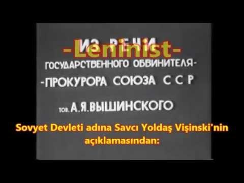 Troçkist-Zinovyevist terörist merkeze karşı dava raporu!
