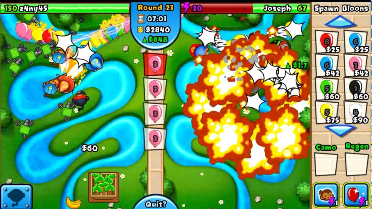 Bloons TD Battles - Android SUPERMONKEY FUN! Epic - YouTube