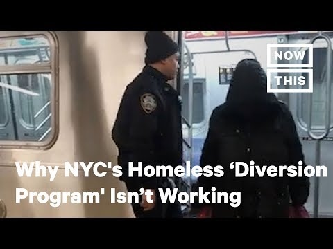 NYC's Homelessness 'Subway Diversion Program' Raises Serious Issues | NowThis