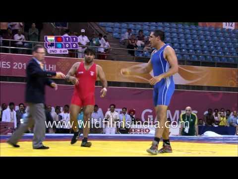 Greco - Roman 96Kg Men : Commonwealth Games