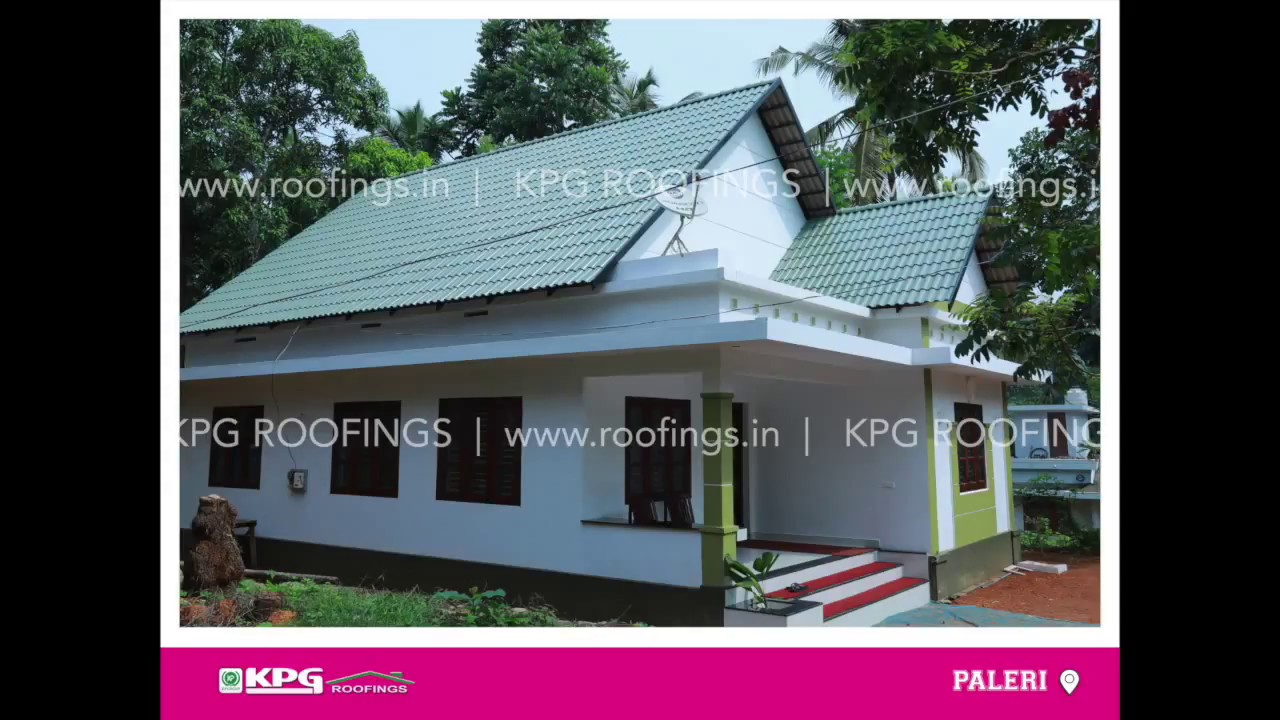 Kerala Homes With Kpg Roof Tiles Youtube