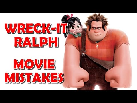 Wreck It Ralph (MISTAKES) |   10 Biggest MOVIE MISTAKES You Missed In Disney This Film