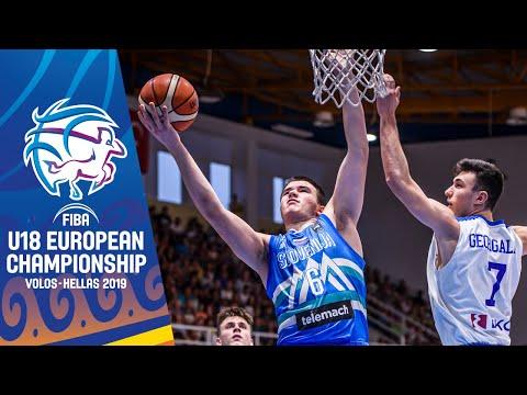 Greece v Slovenia - Full Game