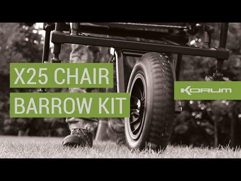 Korum X25 Chair Barrow Kit