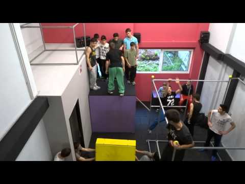 Athens Parkour Academy - New World Gym Grand Opening