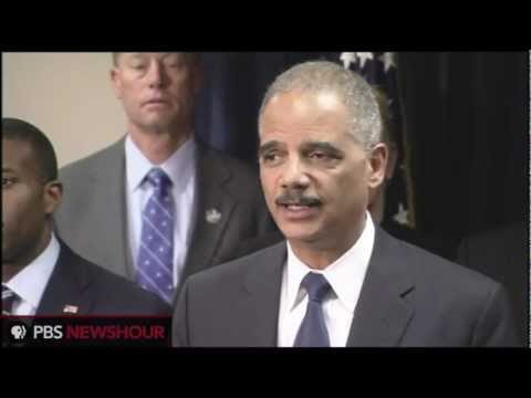 Attorney General Holder Announces Legal Resolution to BP Oil Spill