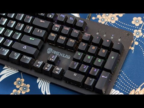 REXUS MX3.2 LEGIONARE MECHANICAL GAMING KEYBOARD Unboxing and Review [INDO SUBS]