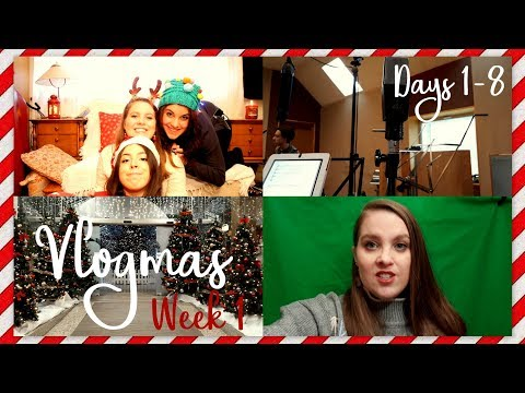 GETTING THE CHRISTMAS TREE & BEHIND THE SCENES | 12 Videos of Vlogmas