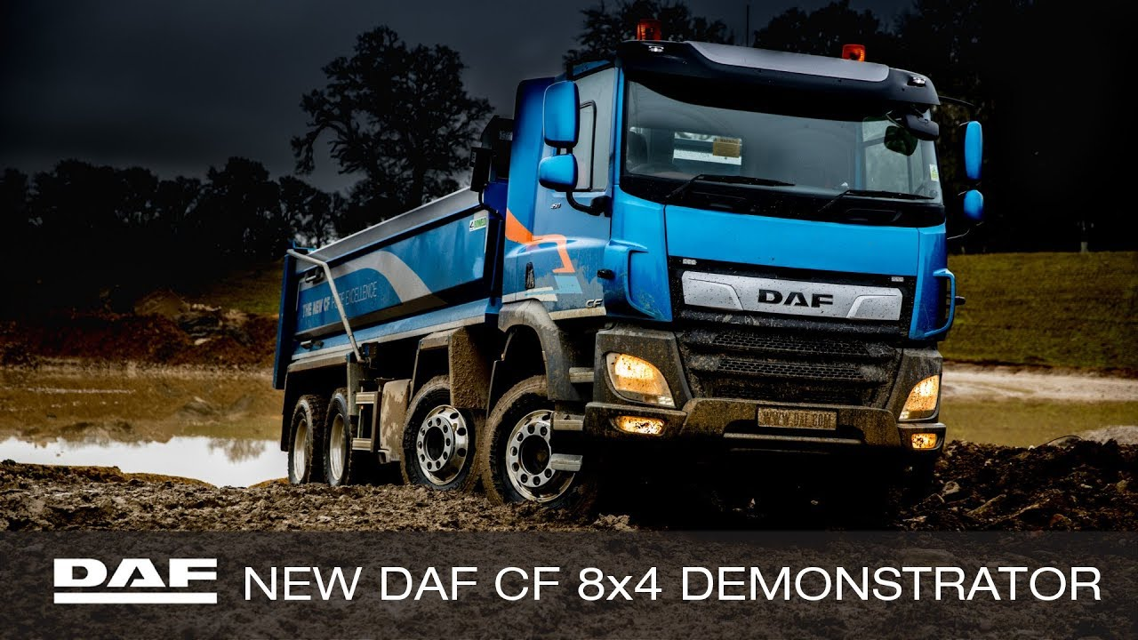 DAF Trucks UK | The New DAF CF 8x4 Demonstrator | Designed By DAF, Built In  Britain