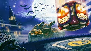 Tanki Online Halloween Gold Box + Halloween mission | Tankifighter