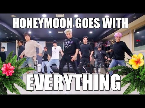 proof that B.A.P Honeymoon choreography goes with everything