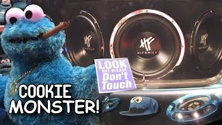 Cookie MONSTER Car Audio & Custom SHOW CAR | Cool System Installation w/ THREE Hifonics Subwoofers