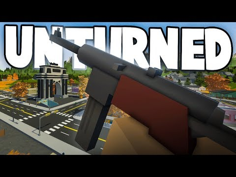 Unturned 3.18.14.0: NEW MP40 & Determinator Revolver! (New Map Sneak Peek, New Items Gameplay)