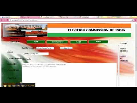 AUTOMATED VOTING SYSTEM - YouTube