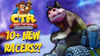 Crash Team Racing: 10+ POTENTIAL NEW RACERS?!