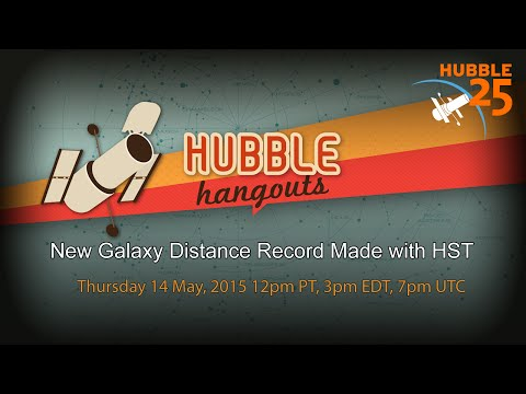 New Galaxy Distance Record Made with HST