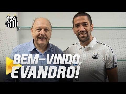 EVANDRO É O NOVO REFORÇO DO SANTOS