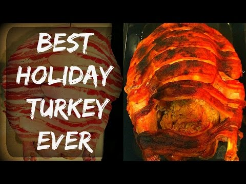 🦃 A Different Holiday Butterball Turkey Recipe With Bacon In A Bag - The Best Turkey Recipe Ever :)