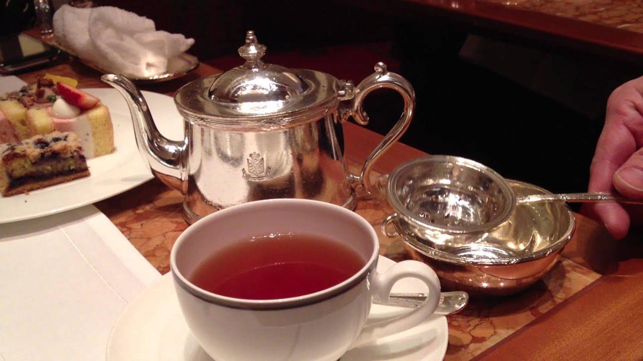 The Peninsula afternoon tea. lobby @ The Peninsula Tokyo. Earl Grey - YouTube