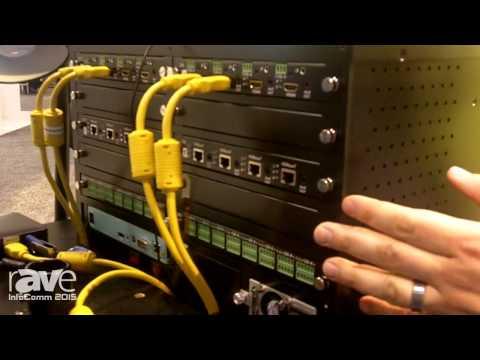 InfoComm 2015: MuxLab Shows rAVe Multimedia 16×16 Matrix Switch