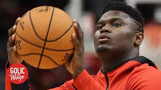 Zion didn't expect to drain 3-pointers in his debut - Pelicans EVP David Griffin | Golic and Wingo