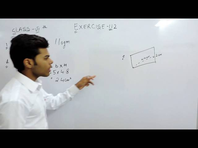 Exercise 11.2 - Question 1 (d) NCERT Solutions for Class 7th Maths Perimeter and Area