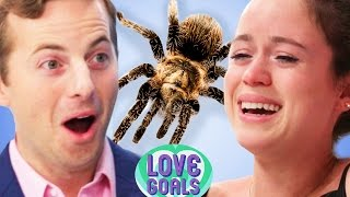Repeat youtube video Couples Face Their Fears •Love Goals Ep. 4