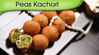 Peas Kachori - Quick And Crispy Snack Recipe By Ruchi Bharani