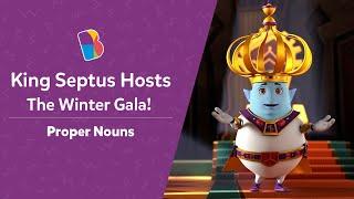 King Septus' Invitation To Queen Spellura For Galaxium's Winter Gala | Proper Nouns | Disney.BYJU'S