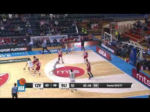 ABA Liga 2016/17 highlights, Round 24: Crvena zvezda mts - Union Olimpija (27.2.2017)