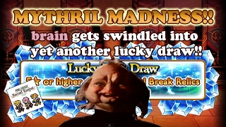 FFRK - Mythril Madness 131 - FFVII Lucky Relic Draw (brain)