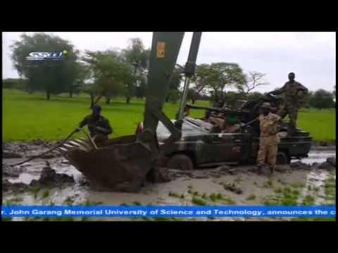 Mighty SPLA in Jonglei @SSTV 2015