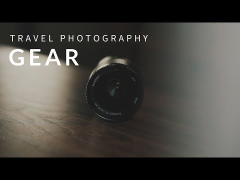 Essential Travel Photography Gear (Everything in my backpack!)