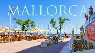 Can Picafort Mallorca beach beautiful 4K Resolution Holiday Part 13-22