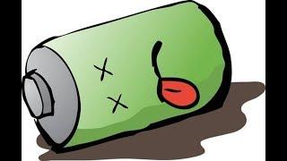 На что способен Nissan Leaf Aze0 с дохлой (4 деления) батареей?