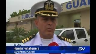 Barco industrial sufrió robo de peces