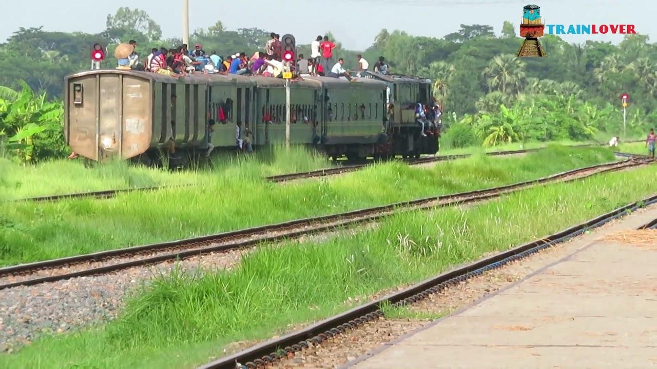 Local Train Of Bangladesh ||| Eshakhan Express