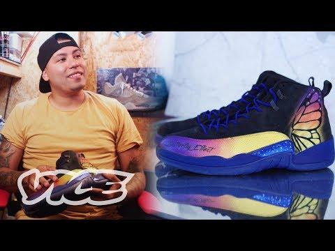 Meet The NBA's Favorite Custom Shoe Artist