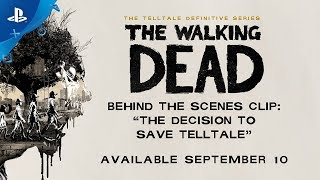 The Walking Dead: The Telltale Definitive Series – Bonus Docu-short Clip | PS4