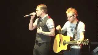 Shinedown - Simple Man - Live, 2/15/2013, Memorial Coliseum, Ft. Wayne, IN.