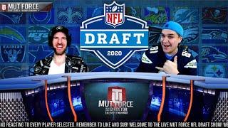 2020 NFL Draft LIVE Stream Reaction | MUT Force LIVE