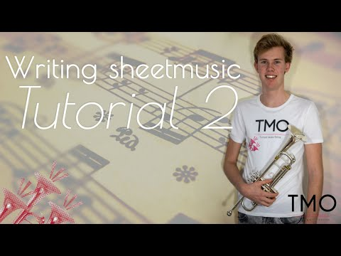 How to write sheetmusic #2 -  Tempo & Time signatures