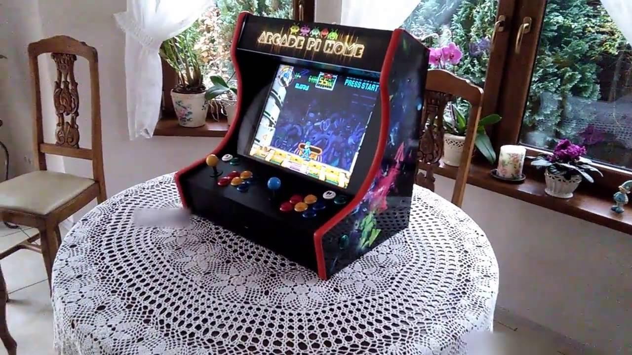 Bartop -arcade machine  Raspberry pi 3  Arcade cabinet
