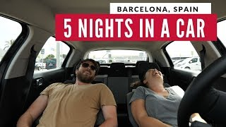 Sleeping In A Car For 5 days Genius or Crazy? Budget Travel Hack | Full Time Travel Vlog 9