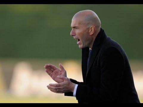 Zinedine Zidane replaces Benítez at Real Madridal Madrid 2016