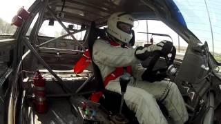 Volante do carro solta e piloto mantém carro acelerado - Autódromo de Interlagos